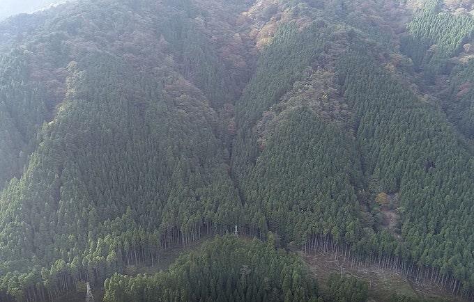 山林物件 滋賀県大津市葛川中村町