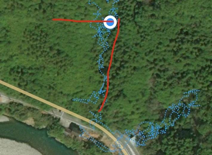 GPS地図アプリ