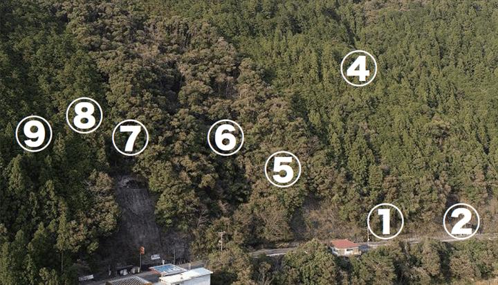 山林物件資料 航空写真