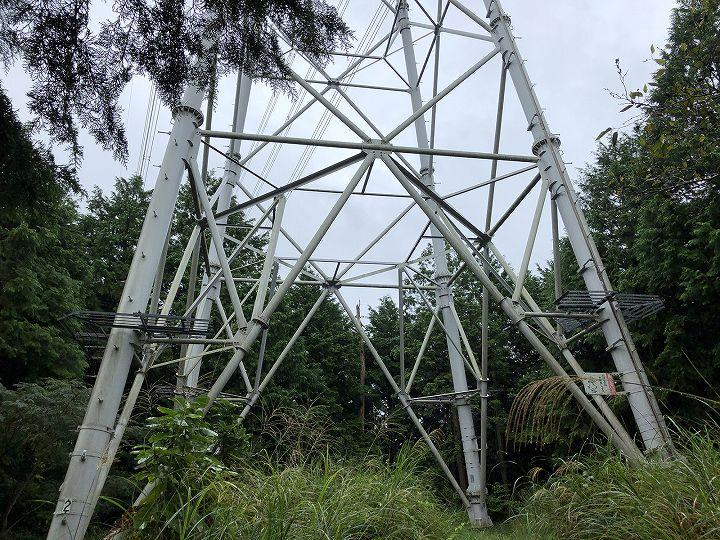 栃木県芳賀郡山林物件 鉄塔