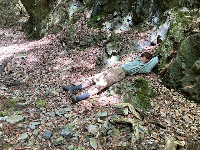 京都府南丹市山林物件 昼寝できる場所