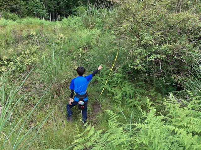 山林物件 兵庫県丹波篠山市 山林までの道のり