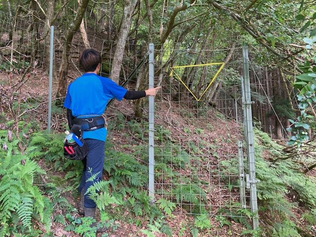 山林物件 兵庫県丹波篠山市 山林入口